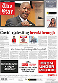 March 08, 2021 (AFRICA): Front-page: Today's Newspapers In Africa