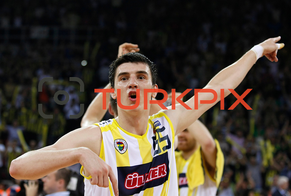 Fenerbahce Ulker's Emir PRELDZIC during their Turkish Basketball league Play Off Final fourth leg match Fenerbahce Ulker between Efes Pilsen at the Abdi Ipekci Arena in Istanbul Turkey on Thursday 27 May 2010. Photo by Aykut AKICI/TURKPIX