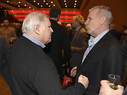 December 17, 2017 - Genval, Belgium - GENVAL,  BELGIUM - DECEMBER 18 : Robert Waseige and Eric Gerets pictured during Raymond Goethals trophy as best best coach (Credit Image: © Panoramic via ZUMA Press)