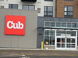 April 30, 2019 - USA - The new Cub location is the ground level tenant of an apartment complex at E. 46th Street and Hiawatha Avenue in Minneapolis. (Credit Image: © TNS via ZUMA Wire)