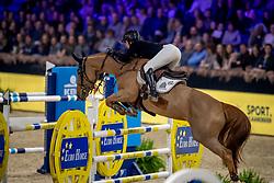 Patteet Gudrun, BEL, Sea Coast Kashmira Z<br /> Jumping Mechelen 2019<br /> © Hippo Foto - Dirk Caremans<br />  28/12/2019