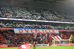 October 29, 2017 - Lille, France - ILLUSTRATION - SUPPORTERS - DRAPEAUX - TIFO (Credit Image: © Panoramic via ZUMA Press)