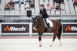 Anastasja Vistalova, (CZE), Jambo - Individual Test Grade Ib Para Dressage - Alltech FEI World Equestrian Games™ 2014 - Normandy, France.<br /> © Hippo Foto Team - Jon Stroud <br /> 25/06/14