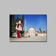 North Pole Alaska the home of Santa Claus,