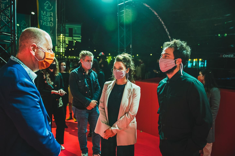 Film Fest Gent - Rode loper Kom hier dat ik u kus