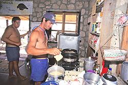 Jeff Seminoff Cooking Breakfast with Tony Galvan