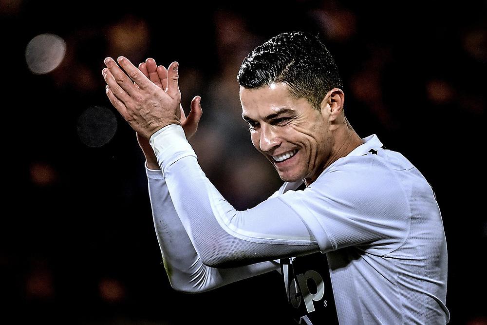 Cristiano Ronaldo Juventus. <br /> Firenze 01-12-2018 Stadio Artemio Franchi<br /> Football Calcio Campionato Serie A<br /> 2018/2019 <br /> Fiorentina - Juventus<br /> Foto Antonietta Baldassarre / Insidefoto