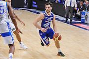 DESCRIZIONE : Campionato 2014/15 Serie A Beko Dinamo Banco di Sardegna Sassari - Acqua Vitasnella Cantu'<br /> GIOCATORE : Stefano Gentile<br /> CATEGORIA : Palleggio Penetrazione<br /> SQUADRA : Acqua Vitasnella Cantu'<br /> EVENTO : LegaBasket Serie A Beko 2014/2015<br /> GARA : Dinamo Banco di Sardegna Sassari - Acqua Vitasnella Cantu'<br /> DATA : 28/02/2015<br /> SPORT : Pallacanestro <br /> AUTORE : Agenzia Ciamillo-Castoria/L.Canu<br /> Galleria : LegaBasket Serie A Beko 2014/2015
