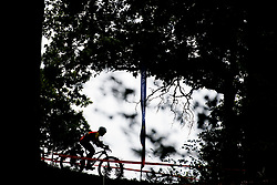 August 7, 2018 - Glasgow, UNITED KINGDOM - 180807 Claudia Galicia Cotrina of Spain competes in the Women's Mountain Bike Cycling during the European Championships on August 7, 2018 in Glasgow..Photo: Jon Olav Nesvold / BILDBYRN / kod JE / 160288 (Credit Image: © Jon Olav Nesvold/Bildbyran via ZUMA Press)