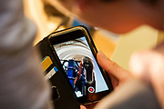 In Delft wordt aan de hand van een schuimmal gekeken of de rijders in de nieuw te bouwen fiets passen. In september wil het Human Power Team Delft en Amsterdam, dat bestaat uit studenten van de TU Delft en de VU Amsterdam, tijdens de World Human Powered Speed Challenge in Nevada een poging doen het wereldrecord snelfietsen voor vrouwen te verbreken met de VeloX 8, een gestroomlijnde ligfiets. Het record is met 121,81 km/h sinds 2010 in handen van de Francaise Barbara Buatois. De Canadees Todd Reichert is de snelste man met 144,17 km/h sinds 2016.<br /> <br /> With a foam mockup the technicians check if the riders fit in the new bike. With the VeloX 8, a special recumbent bike, the Human Power Team Delft and Amsterdam, consisting of students of the TU Delft and the VU Amsterdam, also wants to set a new woman's world record cycling in September at the World Human Powered Speed Challenge in Nevada. The current speed record is 121,81 km/h, set in 2010 by Barbara Buatois. The fastest man is Todd Reichert with 144,17 km/h.