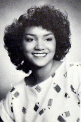 Mar 13, 2002; Cleveland, OH, USA; (FILE PHOTO) Actress HALLE BERRY in her senior yearbook photo from Bedford High School in Cleveland, Ohio in 1984..  (Credit Image: AdMedia/ZUMAPRESS.com)