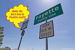 Coal Burn Ban needed in Fayette county, TX.