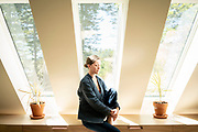 Spruce Head, ME - June 7:<br /> Ariel Hall is photographed in her home in Spruce Head, Maine, on Friday, June 7, 2019. Hall formerly lived at the Buddhist Shambhala Mountain Center. She is a survivor of domestic violence and reported her abusive partner to the Center, where he also lived, and was told to meditate on that subject. Eventually they both left the Center, and it took her over two years more to get out of the relationship.  <br /> (Photo by Sarah Rice/Special to the Denver Post)