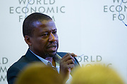 Kamau Gachigi, Executive Director, Gearbox, Kenya during the session: Enabling the Production Workforce of the Future at the World Economic Forum - Annual Meeting of the New Champions in Tianjin, People's Republic of China 2018.Copyright by World Economic Forum / Greg Beadle