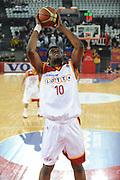 DESCRIZIONE : Roma Lega A 2009-10 Lottomatica Virtus Roma Pepsi Juve Caserta<br /> GIOCATORE : Herve Toure<br /> SQUADRA : Lottomatica Virtus Roma<br /> EVENTO : Campionato Lega A 2009-2010<br /> GARA : Lottomatica Virtus Roma Pepsi Juve Caserta<br /> DATA : 24/01/2010<br /> CATEGORIA : Rimbalzo Schiacciata Tiro<br /> SPORT : Pallacanestro<br /> AUTORE : Agenzia Ciamillo-Castoria/GiulioCiamillo<br /> Galleria : Lega Basket A 2009-2010<br /> Fotonotizia : Roma Campionato Italiano Lega A 2009-2010 Lottomatica Virtus Roma Pepsi Juve Caserta<br /> Predefinita :
