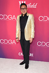 February 19, 2019 - Beverly Hills, California, U.S. - Nico Santos arrives for the 21st CDGA (Costume Designers Guild Awards) at the Beverly Hilton Hotel. (Credit Image: © Lisa O'Connor/ZUMA Wire)