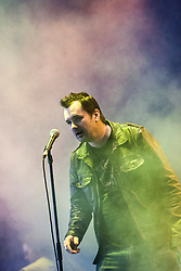 """Comedian Jim Jefferies plays the Goldenvoice Arena. Sunday, Rockness 2013, the annual music festival which took place in Scotland at Clune Farm, Dores, on the banks of Loch Ness, near Inverness in the Scottish Highlands. The festival is known as """"the most beautiful festival in the world""""."""