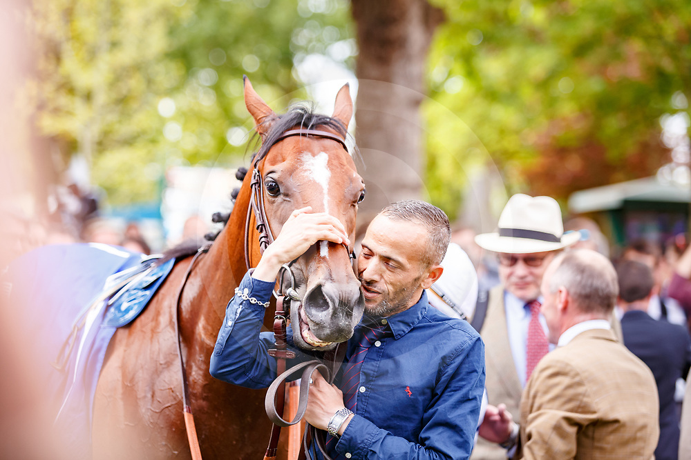 Polydream (M. Guyon) wins Shadwell Prix du Calvados Gr.3  in  Deauville, France 19/08/2017, photo: Zuzanna Lupa