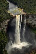 Kaieteur Falls<br /> Guyana<br /> South America<br /> World's tallest single-drop waterfall 741 feet