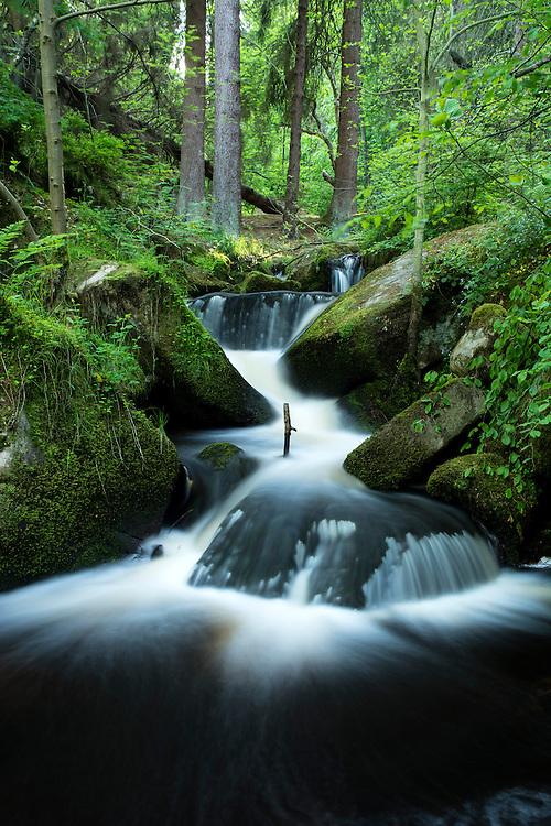 Water at Wymingbrook, Peak District, UK