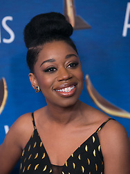 February 17, 2019 - Beverly Hills, California, U.S - Diona Reasonover in the red carpet of the 2019 Writers Guild Awards at the Beverly Hilton Hotel on Sunday February 17, 2019 in Beverly Hills, California. ARIANA RUIZ/PI (Credit Image: © Prensa Internacional via ZUMA Wire)