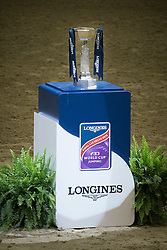 Trophy<br /> Longines FEI World Cup™ Jumping Final II<br /> Las Vegas 2015<br />  © Hippo Foto - Dirk Caremans<br /> 18/04/15
