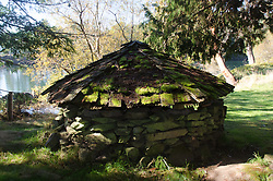Shelter, Wallace Island, Gulf Islands National Park Reserve, British Columbia, Canada
