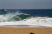 The Wedge in Newport Beach California