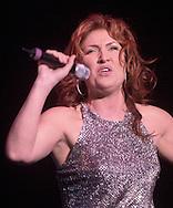 Jo Dee Messina performs at the Morris Performing Arts center Thursday night. Santiago Flores/ photo mac 1/ metro 020801