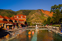 Therapy Pool, Glenwood Hote Springs, Glenwood Springs, Colorado USA