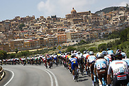 Landscape and peloton during the 101th Tour of Italy, Giro d'Italia 2018, stage 5, Agrigento - Santa Ninfa 152 km on May 9, 2018 in Italy - Photo Luca Bettini / BettiniPhoto / ProSportsImages / DPPI