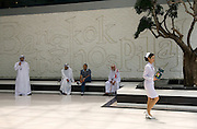 A nurse is spotted by medical tourists from the UAE, outside Bangkok International Hospital