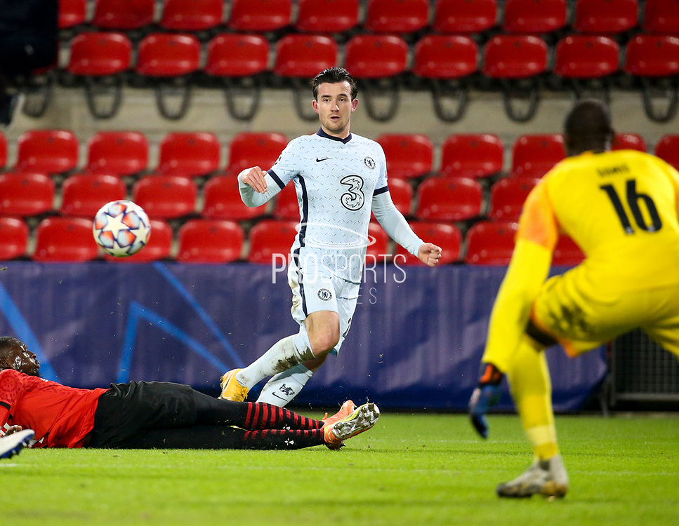 Ben Chilwell of Chelsea during the UEFA Champions League, Group E football match between Stade Rennais and Chelsea on November 24, 2020 at Roazhon Park in Rennes, France - Photo Jean Catuffe / ProSportsImages / DPPI