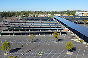 Solar Panels in the Parking lot at California State University Long Beach