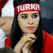 Turkey's supporter during their FIFA World Cup 2014 qualifying soccer match Turkey betwen Estonia at Sukru Saracoglu stadium in Istanbul September 11, 2012. Photo by TURKPIX