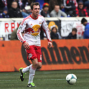 Eric Alexander, New York Red Bulls, in action during the New York Red Bulls V D.C. United, Major League Soccer regular season match at Red Bull Arena, Harrison, New Jersey. USA. 16th March 2013. Photo Tim Clayton