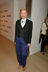 HENRY CONWAY at Fashions for The Future presented by Oceana's Junior Council held at Phillips Auction House, 30 Berkeley Square, London on 19th March 2015.