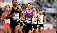 Friidrett , 9. juni 2016 , Diamond League , Bislett Games<br /> Athletics , <br /> ANDREAS Bueno , Denmark , 1500 m