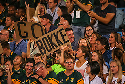 Fans during the Castle Lager Rugby Championship test match between South Africa and Australia held at Loftus Versfeld stadium in Pretoria on the 1st October 2016<br /> <br /> Photo by: Dominic Barnardt/ RealTime Images