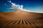 Sand dunes in the Arabian Desert - U.A.E.