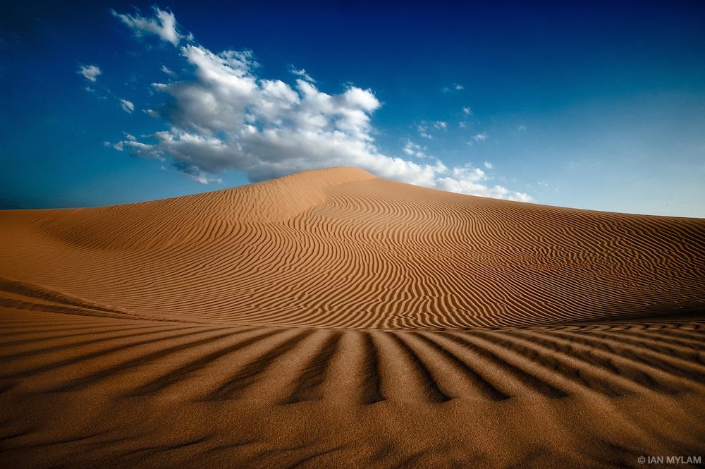 Sand dunes in the Arabian Desert - U.A.E.