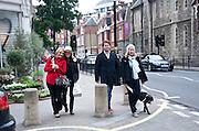 ALICE BAMFORD; GEORGE BAMFORD; LEONORA BAMFORD.  The Pimlico Road Summer party. London SW1. 9 June 2009