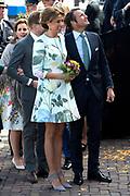 Koningsdag in Dordrecht / Kingsday in Dordrecht<br /> <br /> Op de foto / On the photo: Prinses Marilene en prins Maurits