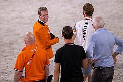 Van Der Vleuten Maikel, NED, Devos Pieter, BEL, Van Der Vleuten Eric, NED<br /> Olympic Games Tokyo 2021<br /> © Hippo Foto - Dirk Caremans<br /> 04/08/2021
