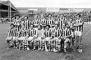 The Kilkenny team before the All Ireland Senior Leinster Hurling Final Kilkenny v Wexford at Croke Park on the 24th of July 1977. Wexford 3-17 Kilkenny 3-14.