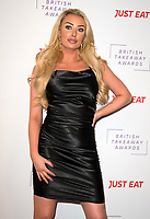 Chloe Crowhurst at The Fifth Annual British Takeaway Awards at The Savoy Hotel, London, UK <br /> 27/01/20