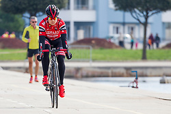 Jan Tratnik of BMC Amplatz during prologue (2km) of 13th Istrian Spring Trophy cycling race on March 10, 2016 in Umag, Croatia. Photo by Urban Urbanc / Sportida