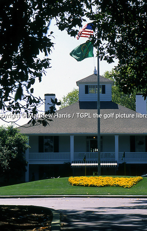 Feature: Augusta National Golf Club - Augusta - GA - USA<br /> The clubhouse of the most exclusive golf club in the USA<br /> and where they hold the famous US Masters Tournament.