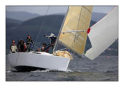 Savills Kip Regatta 2011, the opening regatta of the Scottish Yachting Circuit, held on the Clyde...Now or Never, GBR7667R, Mat 10.10.