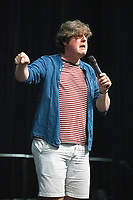 Glenn Moore AT 'LONDON'S FIRST FESTIVAL THIS SUMMER KALEIDOSCOPE TAKES PLACE AT ALEXANDRA PALACE,PHOTO BY BRIAN JORDAN